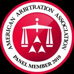 American Arbitration Association Panel Member 2019